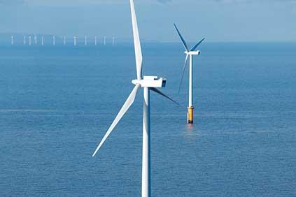 Siemens 3.6MW offshore turbine