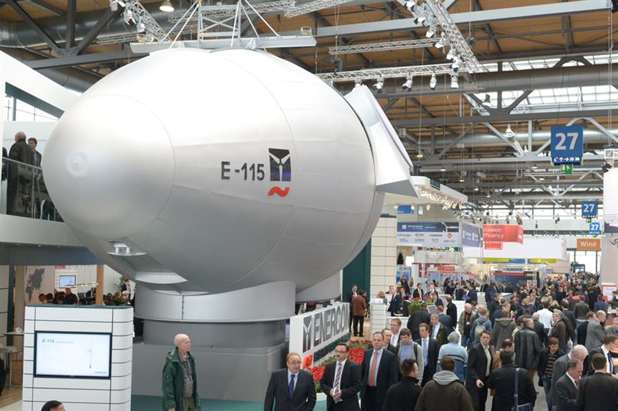 Direct drive… A prototype of Enercon's 2.5MW E-115 is planned for this year