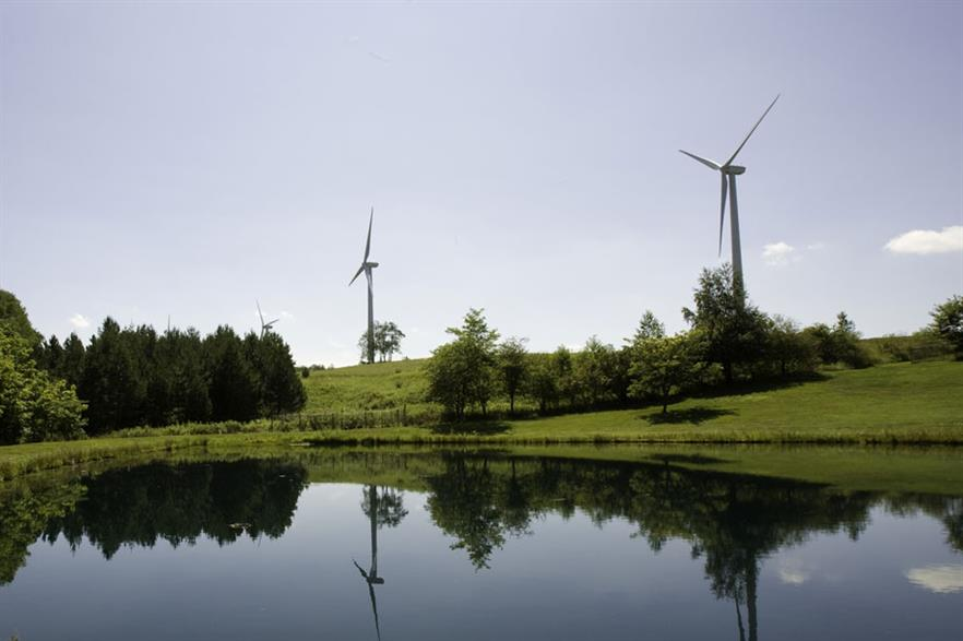 Green growth… Under the new tariff, green electricity will come from projects with PPAs such as Casselman in Pennsylvania (pic:Iberdrola Renewables)