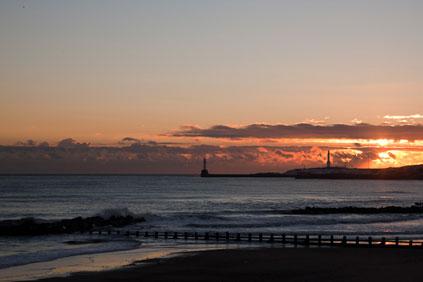 Aberdeen Bay... site of the Vattenfall wind farm