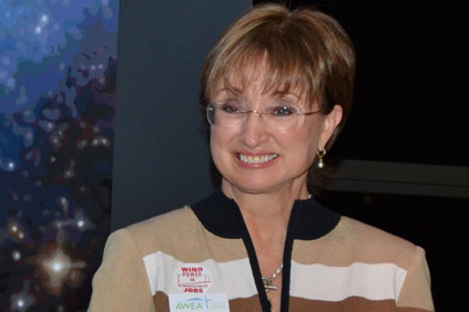 AWEA CEO Denise Bode... leaving AWEA after four years