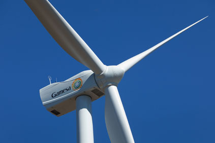 The project uses Gamesa 2MW turbines