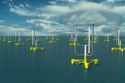 The Vertiwind turbines