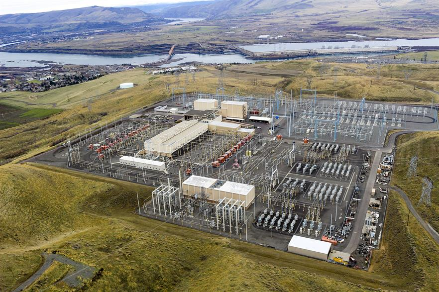 ABB upgraded the Celilo power station, part of the Pacific Intertie link in Oregon, in 2016