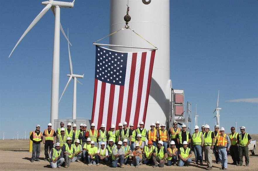WMPR forecasts 23.9GW could be built over the next two years in the US (pic credit: AWEA)