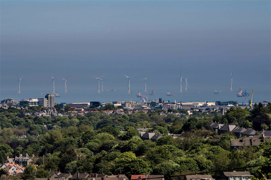 Vattenfall owns the 93.2MW Aberdeen Bay - European Offshore Wind Deployment Centre wind farm