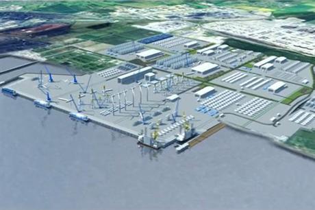 The Able Marine Energy Park will cover around three square kilometres
