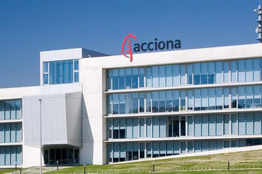 Acciona Energia's profits fell 17.3% in the first nine months of 2014