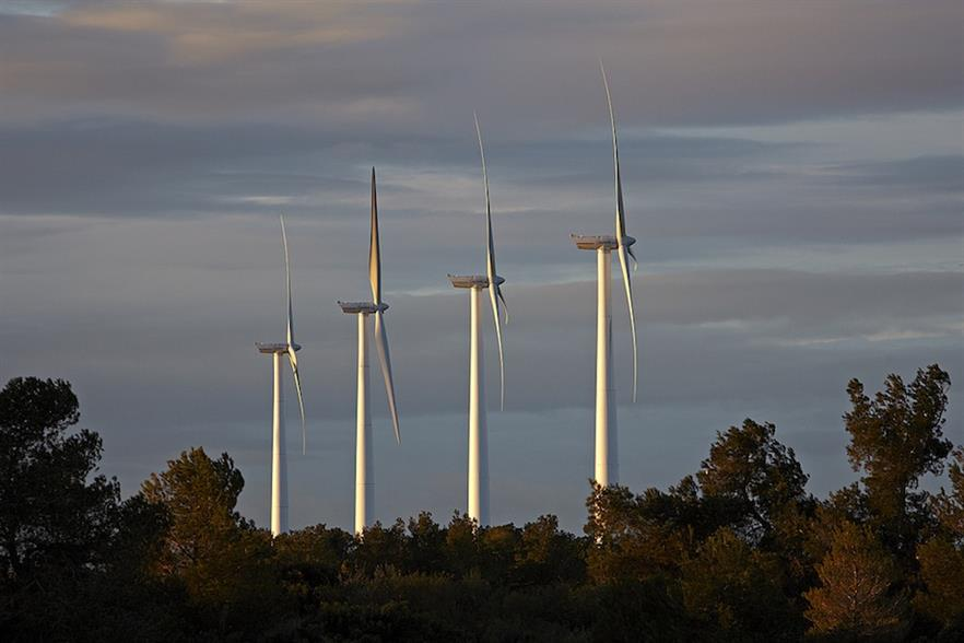 Acciona's wind division posted an increased pre-tax profit of €39 million in 2014