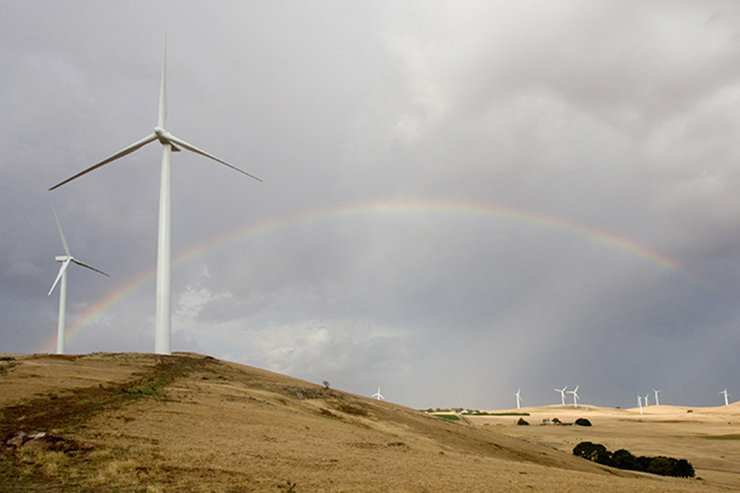 Acciona built the 192MW Waubra wind project, also in Victoria