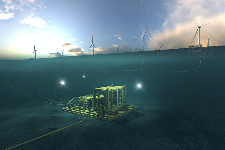 Aker Offshore Wind claims underwater substations could be cheaper and more reliable than those above sea level