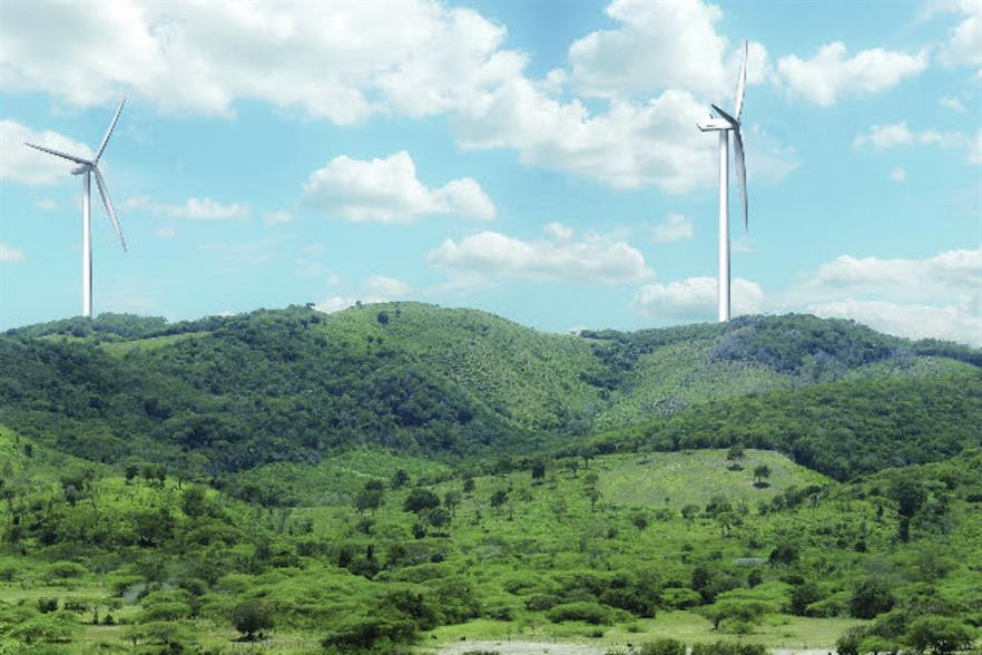 The Dominican Republic currently has 134.9MW of operational wind farms (pic credit: Akuo Energy)