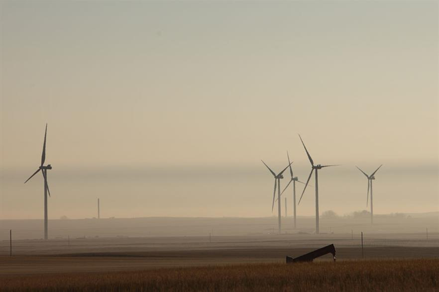 Go west… The 300MW Blackspring Ridge project, EDF EN Canada's first in Alberta, came online this year (pic: Enbridge)