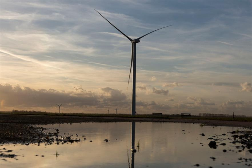 Alstom currently installs the ECO122 on an 89-metre tower