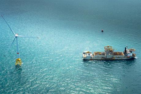 The Block Island project will feature the 6MW Alstom Haliade turbine