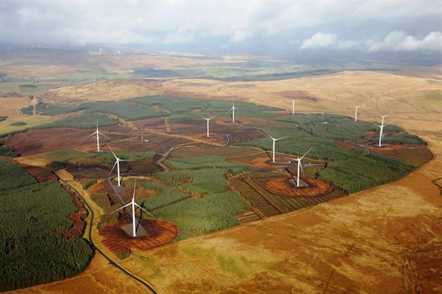 Statkraft's 36.3MW Andershaw wind farm in South Lanarkshire went online this year