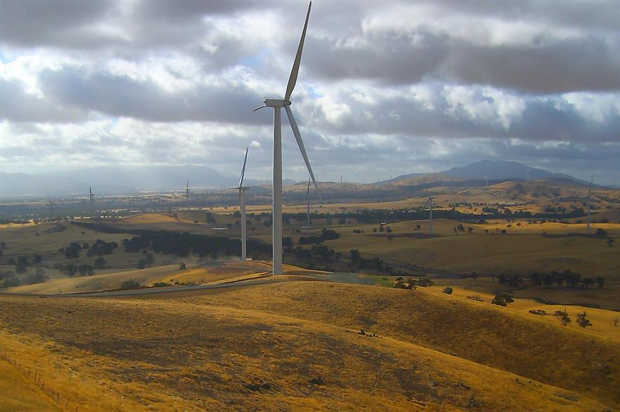 The recently completed 240MW Ararat wind project in Victoria