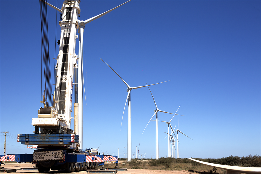 According to the IEA's projections, 236GW of wind needs to be installed annually to reach 8,000GW total capacity by 2030(pic: Casa dos Ventos/flickr)