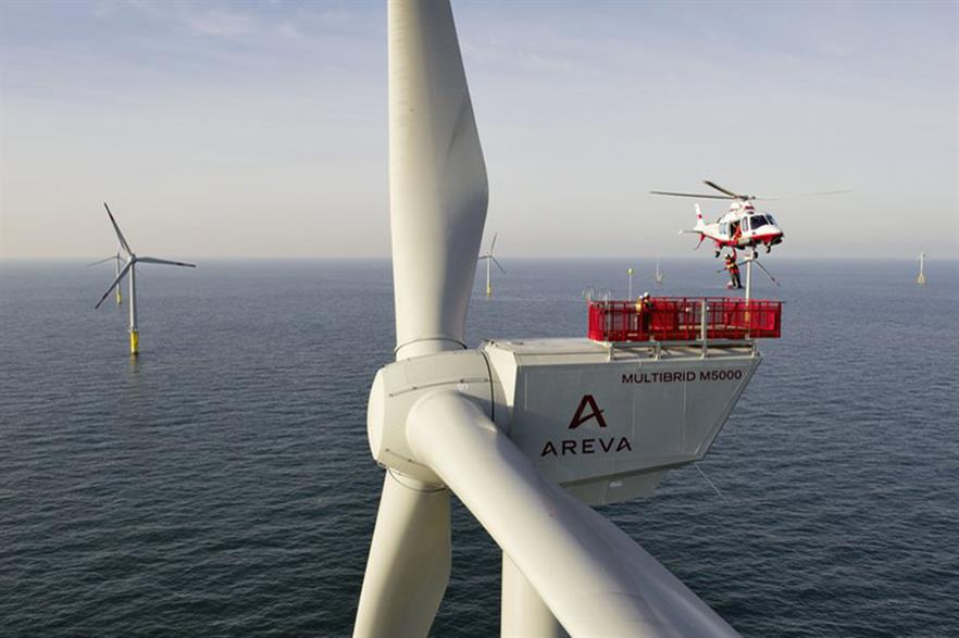 TÜV Rheinland to inspect lifts at Global Tech 1 (Pic: Areva Wind/Jan Oelker)