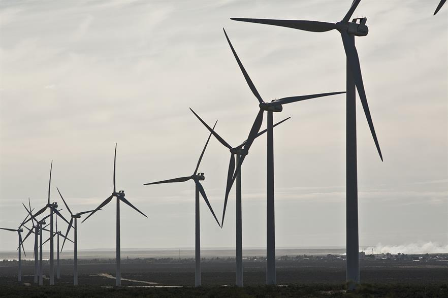 Bids for wind projects have been capped at $56.25/MWh, but prices are expected to be lower (pic: Genneia)