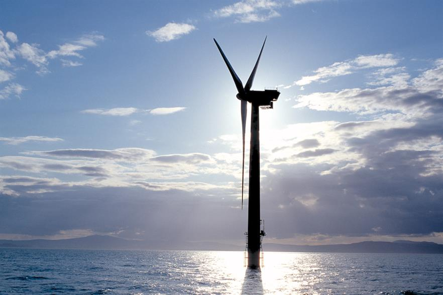 To date, Ireland has just one 25.2MW offshore wind farm - SSE's Arklow Bank (above)