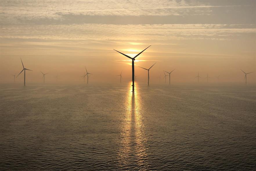 E.on owns stakes in 2.4GW of operational offshore projects, including the 385MW Arkona project (above) in German waters