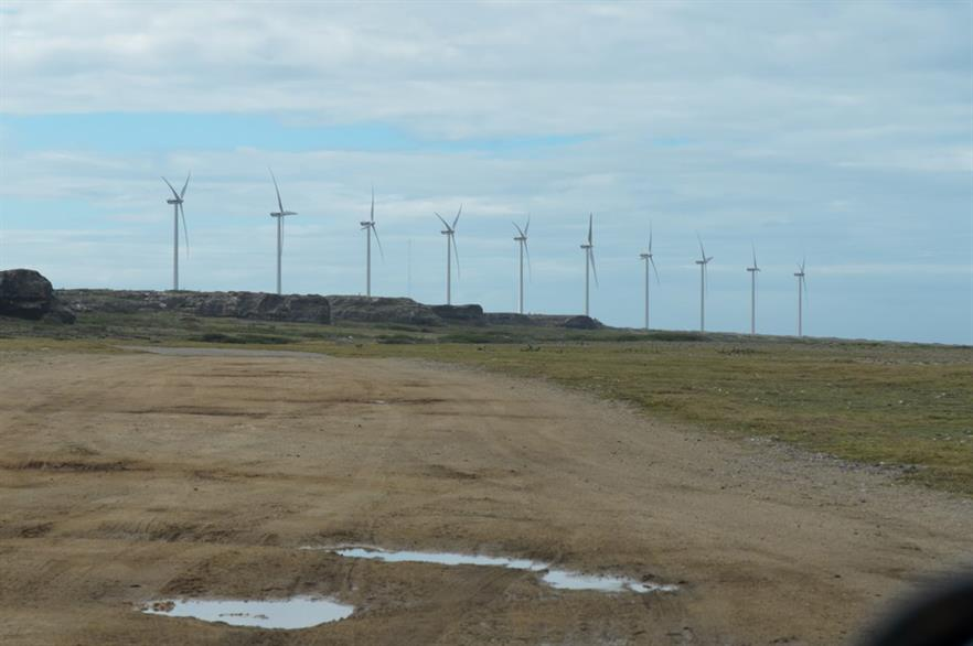 The 30MW Vader Piet wind project on Aruba (pic: Dan Souza/Flickr)