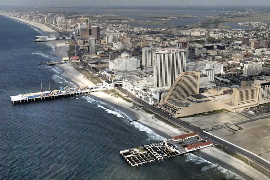 Aerial view of Atlantic City, New Jersey (pic credit: Bob Jagendorf)