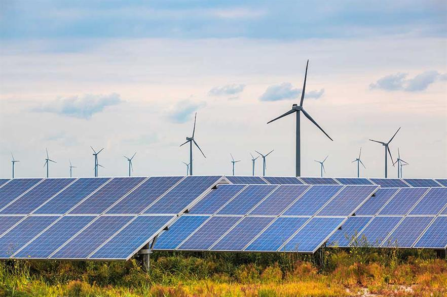 Solar installation in non-OECD countries can cost less than wind (pic: DP Energy)