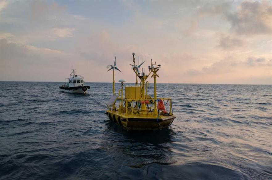 Axys' FLiDAR Wind Sentinel device operates autonomously and is powered by its own renewable energy system