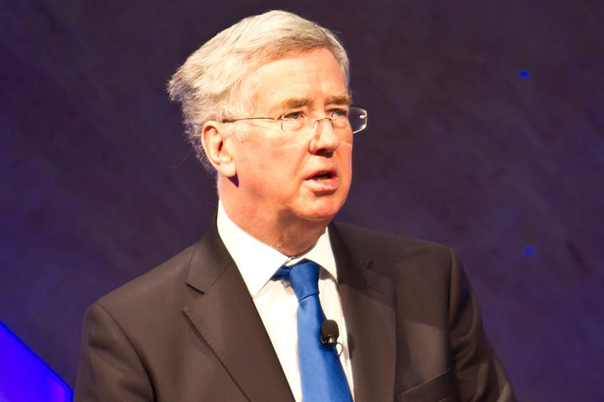 Michael Fallon replaces John Hayes as energy minister (pic:BIS)