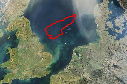Dogger Bank is one of the UK offshore developments lined up for the North Sea
