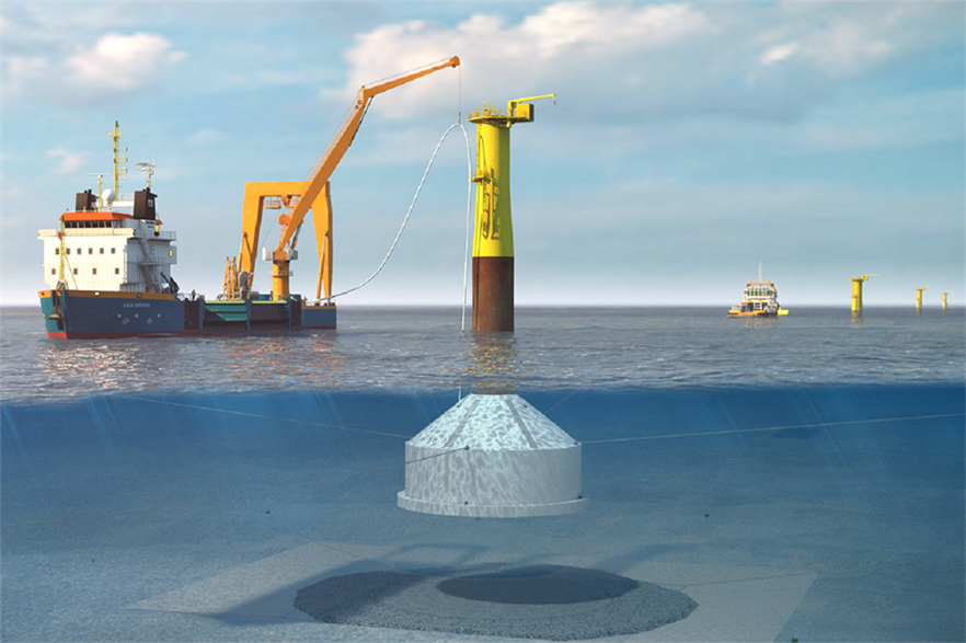 Dutch construction firm Royal BAM Group will supply the gravity-base foundations for Blyth