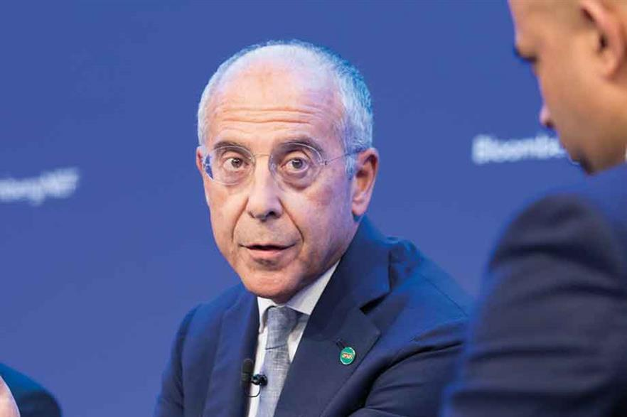 """Francesco Starace: """"An earthquake has happened in the business model for renewables in the last five years"""" (pic: Bloomberg)"""
