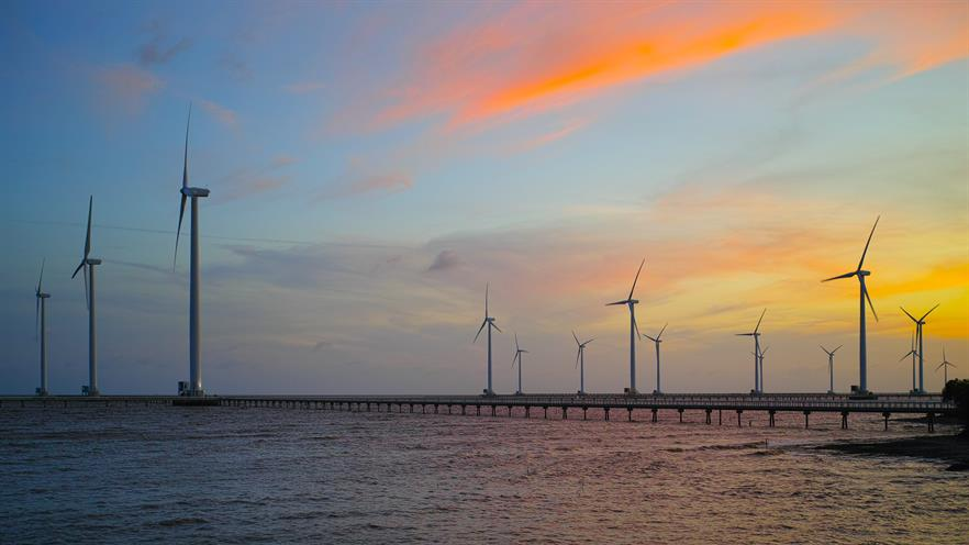 Vietnam has 99MW of offshore wind capacity, including the Bac Lieu intertidal project (pic credit: Tycho/Wikimedia Commons)