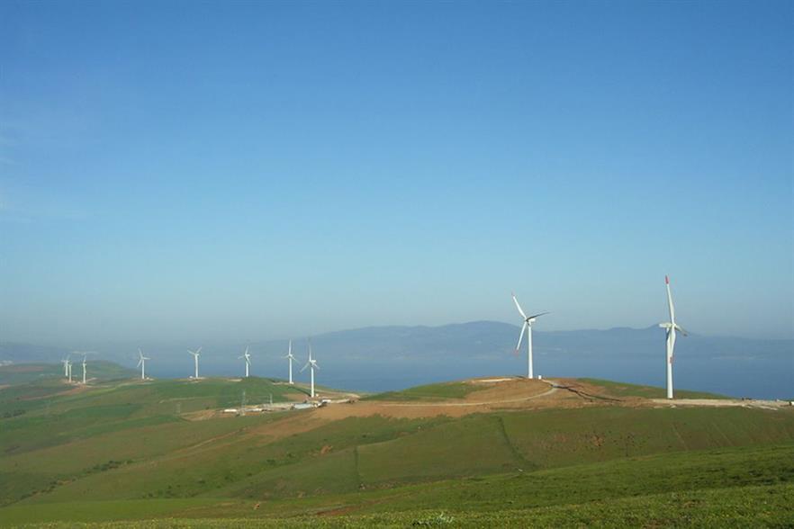 The 142.5MW Balikesir wind farm in north-western Turkey (pic credit: GE)