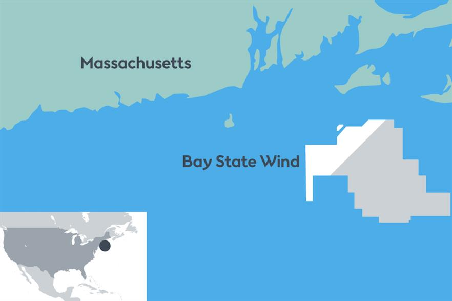Bay State Wind is to be located between 20 and 40 kilometres off Massachusetts' south coast