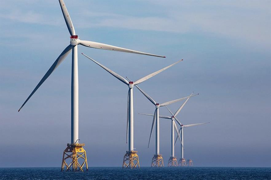 There is currently just over 900MW of operational offshore wind in Scottish waters, including SSE's 588MW Beatrice project