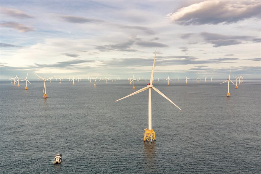 SSE's 588MW Beatrice wind farm off Scotland