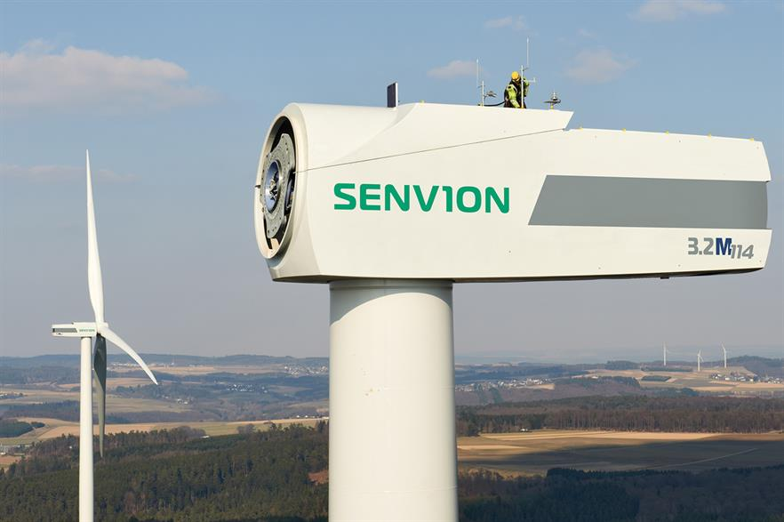 Senvion said the deal has saved 70% of employees jobs