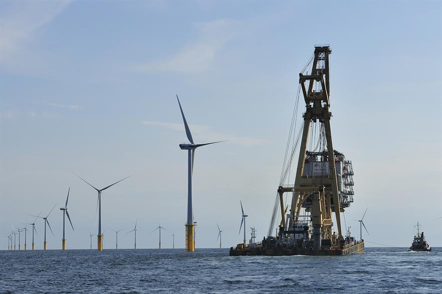 Parkwind also owns the Belwind offshore wind project in Belgium (pic: Van Oord)
