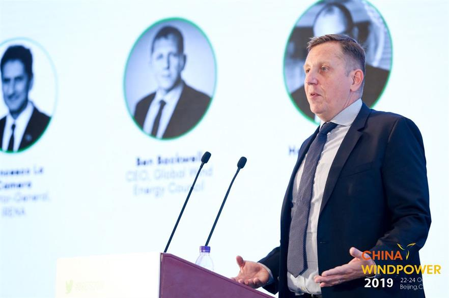 GWEC chief executive Ben Backwell