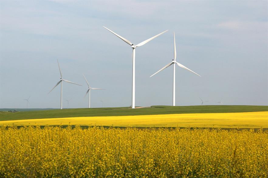 EDF Renewables' 300MW Blackspring Ridge project in Alberta, Canada