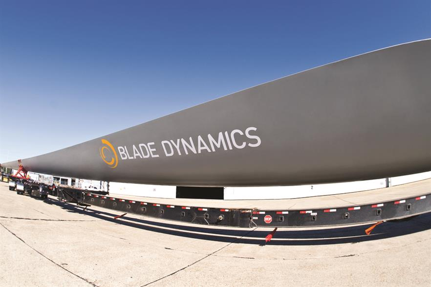 Testing is due to begin on the blade next summer