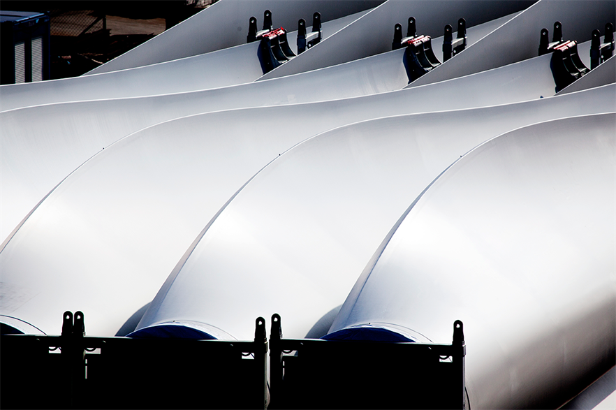 Today, between 85% and 90% of a wind turbine's total mass can be recycled today, with blades accounting for much of the deficit (pic: Frank Boutrup Schmidt/Vestas)