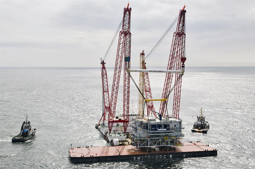 Bladt and Semco previously partnered on the Northwind offshore substation (pic: Bladt Industries/Semco Maritime)