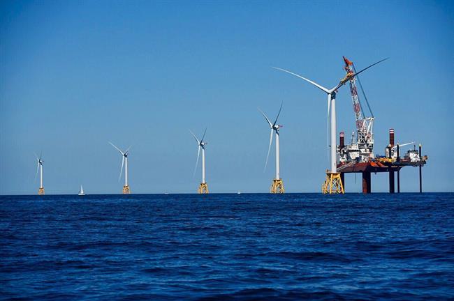 Today's total US offshore wind fleet: five 6MW turbines at Block Island