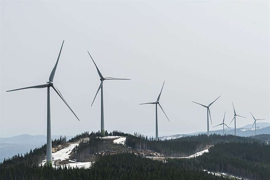 Boralex has developed over 1.1GW of wind capacity in Canada, the US and France