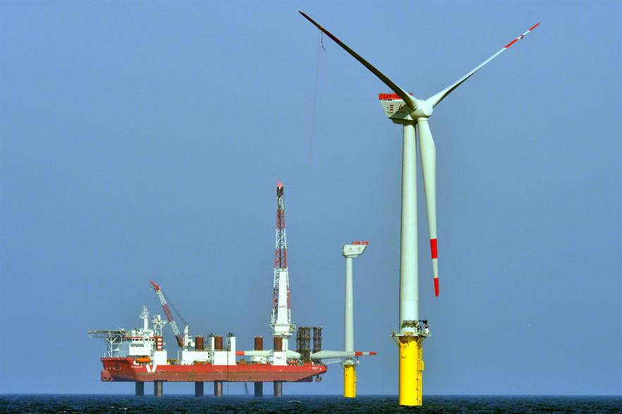 The Areva turbines are now all installed at the project