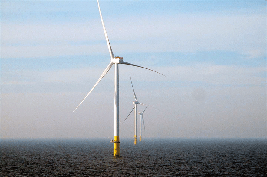 The Borssele 1&2 site in Dutch waters uses SGRE 8ME turbines (pic: Ørsted)